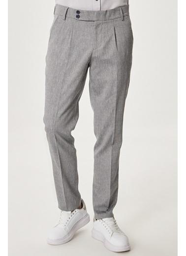 AC&Co / Altınyıldız Classics Slim Fit Dar Kesim Yan Cep Casual Pantolon 4A0121200034 Lacivert